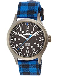 Timex Herren-Armbanduhr Expedition Scout Analog Quarz Nylon TW4B02100