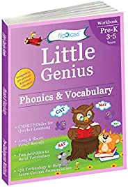 Phonics & Vocabulary: Pre Kindergarten Workbook (Little Genius Series): Learn Pronunciation of Short &