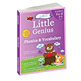 Phonics & Vocabulary: Pre Kindergarten Workbook (Little Genius Series): Learn Pronunciation of Short
