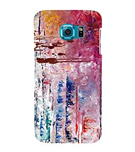 Abstract Art Pattern 3D Hard Polycarbonate Designer Back Case Cover for Samsung Galaxy S6 :: Samsung Galaxy S6 G920