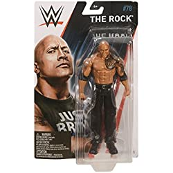 WWE SERIE BASIC 78 MATTEL ACTION FIGURE WRESTLING - The Rock - The Peoples CAMPIONE - The Great UNO