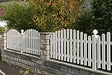 MERLIN Gartenzaun Zaun aus Aluminium, für Garten und Haus, aus Aluminium, Zäune, mit lebenslanger Garantie