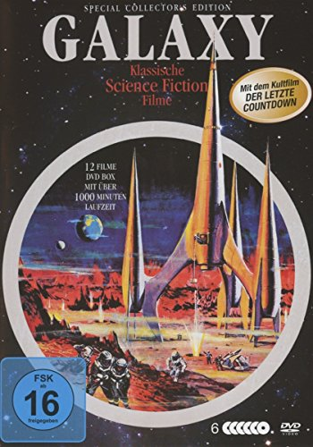 Bild von Galaxy Science-Fiction Classic Deluxe-Box [6 DVDs]