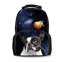 Coloranimal Under Animals Printed Children School Large Backpacks Kids Blue Bookbags