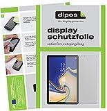 dipos I 2X Schutzfolie matt passend für Samsung Galaxy Tab S4 Folie Displayschutzfolie