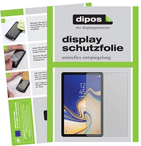 dipos I 2X Schutzfolie matt passend für Samsung Galaxy Tab S4 Folie Displayschutzfolie - Tablet 2012 Samsung