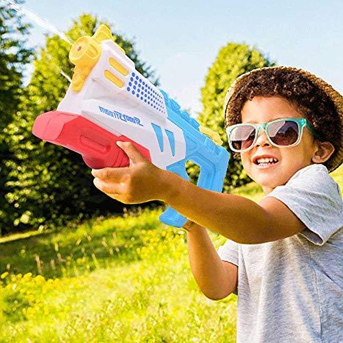 Volwco Super Water Gun Soaker, Wasserpistole Mit 1L Kapazität, Wasserblaster Bis 10m, Wasserschlachtspielzeug Für Kinder