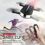 Upxiang Für JJRC H37 BABY ELFIE RC Quadcopter, Kopfloser Modus 4CH Drone, 6 Achsen Gyro Toys Mit 3 Batterie