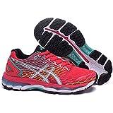 De la Mujer Luz acolchado Gel Nimbus 18Trail carretera Running Sport Competencia de Carreras de zapatos calzado zapatillas deportivas en color rojo y negro, mujer, rojo y negro, EUR38