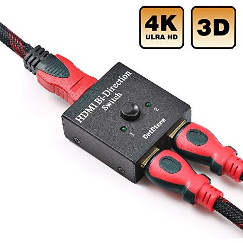 HDMI Switch Bidirezionale HDMI Interruttore Manuale usato  Spedito ovunque in Italia