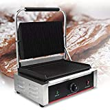 FROTH & FLAVOR Stainless Steel Commercial Sandwich Griller for Jumbo 2 Bread