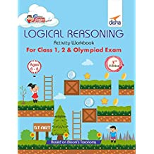 Perfect Genius Logical Reasoning Activity Workbook for Class 1, 2 & Olympiad Exams