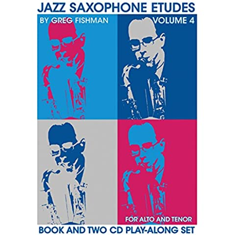 Jazz Saxophone Etudes 4 - BOOK+2CD