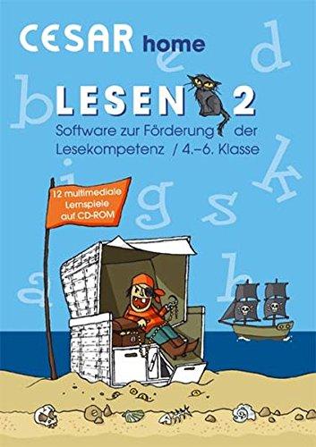 CESAR home Lesen 2/Windows 98-XP: Software zur Förderung der Lesekompetenz