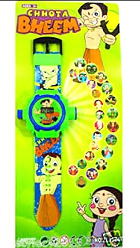 Gubbarey Projector Watch Kids Different Cartoon Characters To Choose(Chota Bheem)  available at amazon for Rs.98