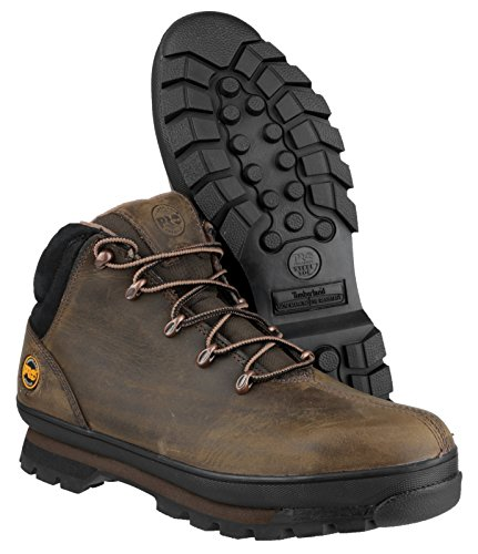Timberland Splitrock S3 PRO Gaucho Laced Safety Boot Brown