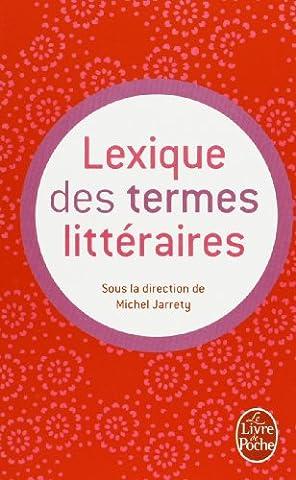 Lexique des termes