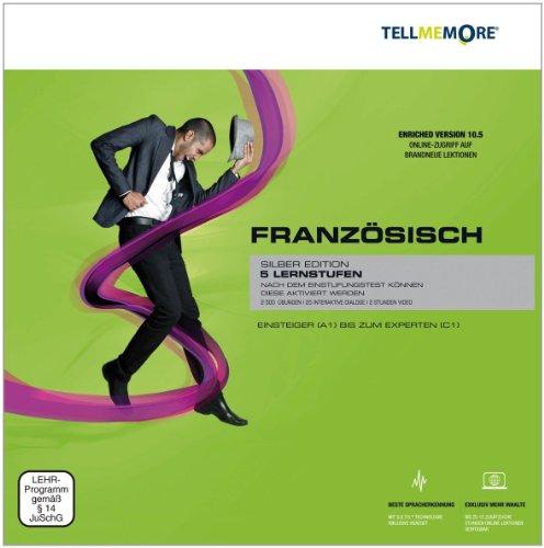TELL ME MORE Enriched Version (10.5) : Französisch, Silber Edition, DVD-ROM 5 Lernstufen....
