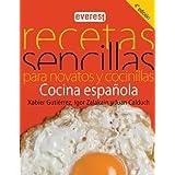 Recetas sencillas para novatos y cocinillas. Cocina española (Cocina temática)