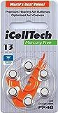 iCellTech Quecksilberfrei Hörgerät-Batterien...