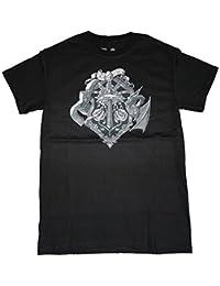 Minecraft Heroes Crest OFFICIAL Jinx US Import Gaming Unisex Premium T-Shirt