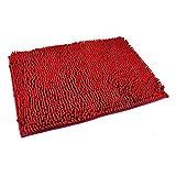 Hemore 60 * 40CM Badezimmerteppich rot Weihnachten Halloween Thanksgiving Party Dekoration