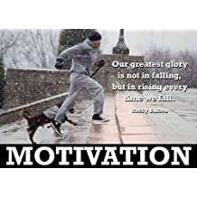 Rocky Balboa 3 Póster de motivación - boxear - con texto en inglés - A3