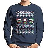 Super Christmas Bros Mario Men's Sweatshirt