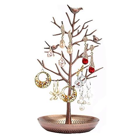 AISHN Schmuck Kettenständer aus Metall Kettenständer aus Metall Für Ring Earring Necklace Bracelet