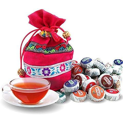 SaySure - 50pcs 10 kinds Flavor Pu er Pu'erh tea yunnan Puer tea