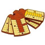 Spiele der Antike–Brettspiel, Holz Schläger Rot (Games Pico Pao 404C)