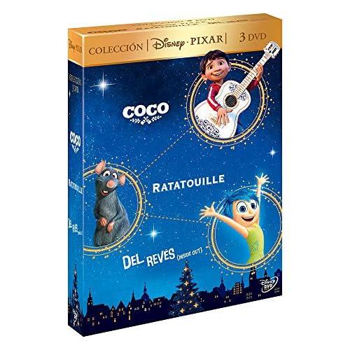 Pack: Coco + Ratatouille + Del Revés [DVD] 4