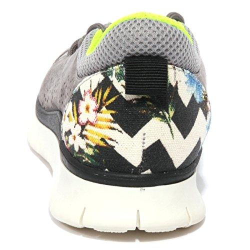 B1100 sneaker donna P448 E5 FORREST scarpa grigia shoes women Grigio
