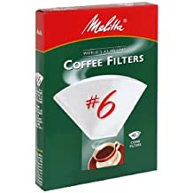 40CT #6 WHT Cone Filter by Melitta