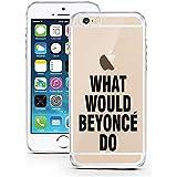 Licaso - Carcasa protectora para iPhone 6 y 6S, poliuretano termoplástico, ultrafina, silicona TPU, WW Beyoncé Do?, iPhone 7