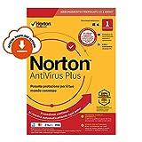 Norton Antivirus Plus 2020 Antivirus Software per 1 Dispositivo e 1 Anno di Abbonamento con Rinnovo Automatico PC o Mac Codice d'Attivazione via email