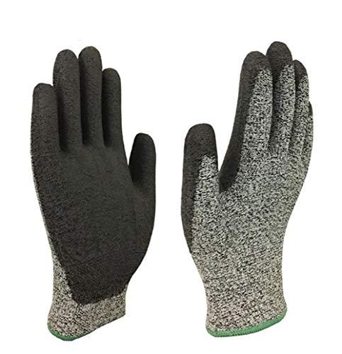 Anti-Schnitt-Handschuhe, Anti-Rutsch-Handschuhe, Multifunktions-Schutzhandschuhe, Gartenarbeit, Bau, Mechanik