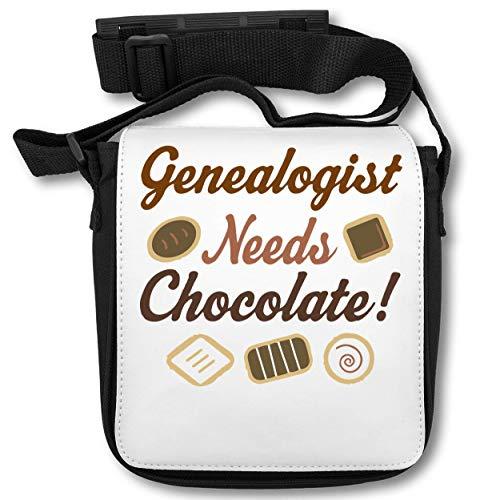 Genealogist Needs Chocolate ! Schultertasche (Herr Luke Valentine)