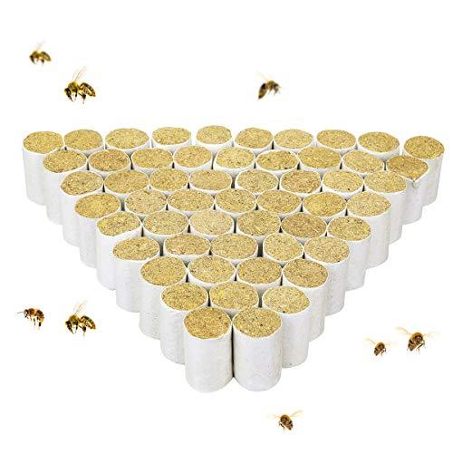 Janolia Bienenraucher Patronen, 54 PCS Chinesisches KrautBienenstock-Raucher Festbrennstoff zur Imkerei Desinfektion von Bienenstöcken