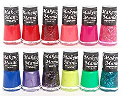 Makeup Mania Exclusive Nail Polish Set of 12 Pcs (Multicolor Set  85)