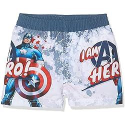 Marvel Avengers Bóxer, Azul (Blue Captain), 8 años para Niños