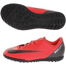 Nike Bota de Futbol CR7 Mercurial Vapor 12 Club GS Suela Turf Roja Niño 3e37d2ca9b9bd