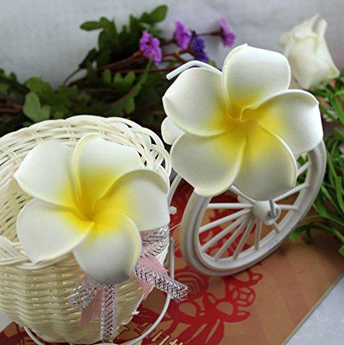 flowerkui-encantador-Plumeria-para-el-pelo-diseo-de-flor-color-blanco