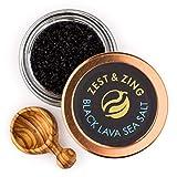 Sel de Mer Noir de Hawai (à gros grain), 55g: Zest & Zing Sel de Mer Premium