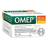 OMEP HEXAL 20 mg magensaftresistente Hartkapseln 14 St Kapseln magensaftresistent