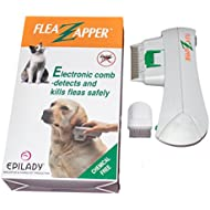 Electronic Flea Comb Kills Fleas Without Chemicals. Epilady