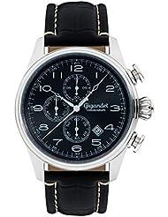 Gigandet TIMELESS Montre Homme Chronographe Analogique Quartz Noir Argent G41-002