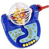 Baoblaze Lustiges Bingo Lottery Machine Spielzeug aus Kunststoff