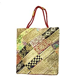 Shubhangi Women's Shoulder Bag (Jaipuri Embridered Handicraft Traditional Handbags,stylish Traditional Bag,Multi-Coloured... - B079KRLTRH