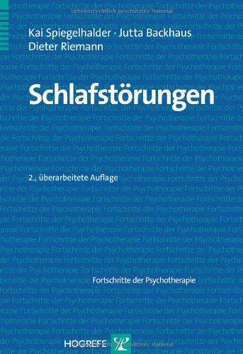 Schlafstörungen (Fortschritte der Psychotherapie / Manuale für die Praxis)